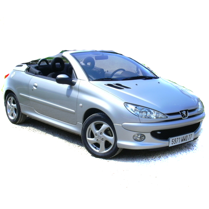 Peugeot 206 CC 2001-2007