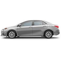 Toyota Corolla Boot Liners