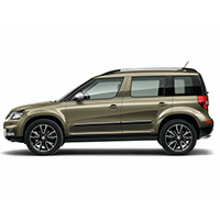 Skoda Yeti Boot Liners (2009 Onwards)