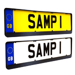 Number Plates Surrounds